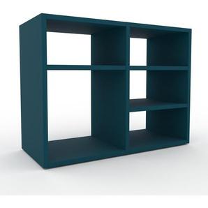 Lowboard Blau - Designer-TV-Board: Hochwertige Qualität, einzigartiges Design - 79 x 61 x 35 cm, Komplett anpassbar