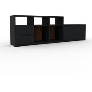 TV Rack Schwarz   MDF   192 X 62 X 35