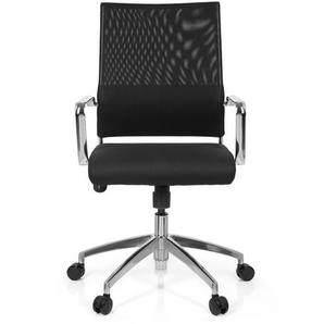LUCANO - Home Office Chefsessel Schwarz