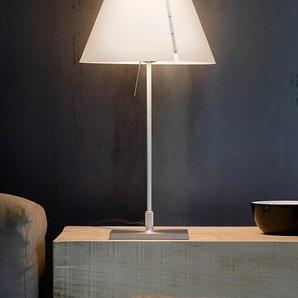 Luceplan Tischleuchte Costanzina weiß, Designer Paolo Rizzatto, 51xFuß14xFuß 14 cm
