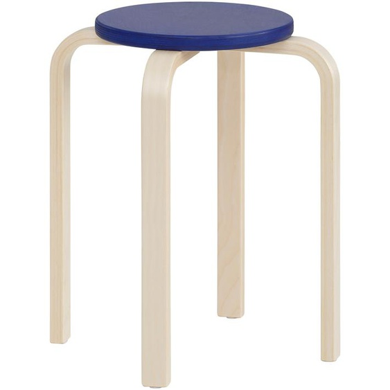 Lüttenhütt 4-Fußstuhl Tipa, in verschiedenen Größen und Höhen, aus Birkenschichtholz, Hocker für Kinder Maße(B/T/H)40/40/45cm. beige Kinderstühle Kindermöbel Stühle