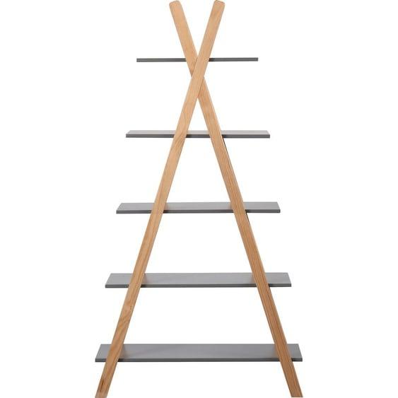 Lüttenhütt Regal Dolidoo, in skandinavischem Look, Leiterregal für Kinder- oder Jugendzimmer Einheitsgröße grau Kinder Kinderregale Kindermöbel Regale