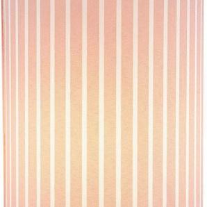 Lüttenhütt Tischleuchte »Striepe«, Tischlampe mit Streifen - Stoffschirm Ø 12 cm, rosa / weiß gestreift, Touch Dimmer