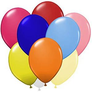 Luftballons Ø 30 cm - Rosa Pink Lila Weiß 17 weitere Farben - 10, 25, 50 und 100 er Set! - Deko für den Geburstag Hochzeit Taufe Party JGA - Helium/Gas geeignet Konfetti - Bunt
