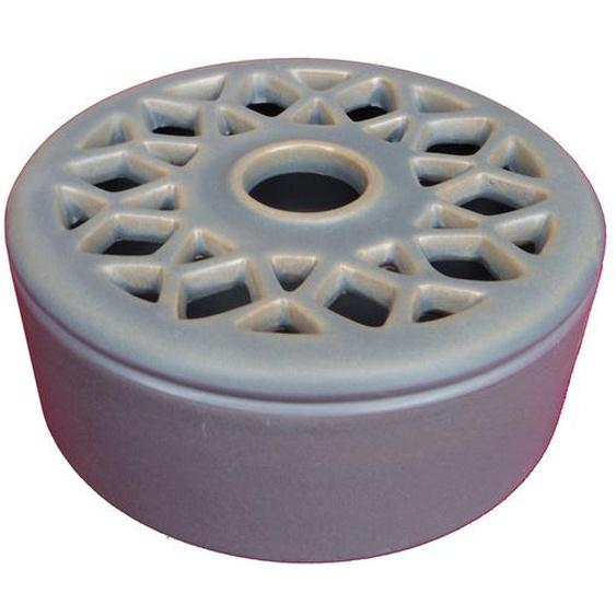 Luftbefeuchter Aus Keramik Tasse Grau Blau Verdunster Kaminofen