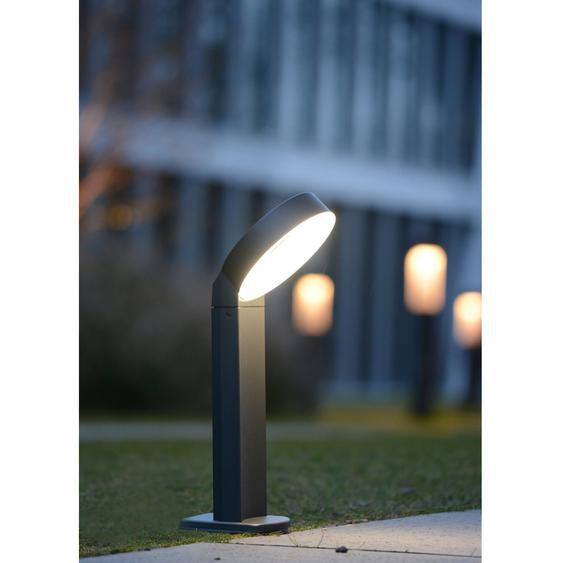 Lutec LED-Wegeleuchte Meridian Anthrazit EEK: A+