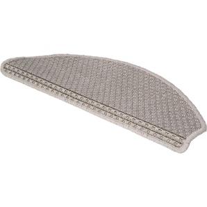 Luxor Living Stufenmatte »Nottingham«, 15x 28x65 cm, 8 mm Gesamthöhe, grau