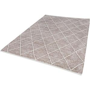 Luxor Living Teppich  »Pantin«, 170x240 cm, 8 mm Gesamthöhe, braun
