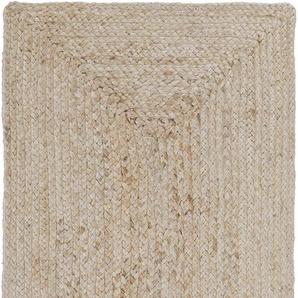 LUXOR living Teppich Salo, rechteckig, 6 mm Höhe, natürliche Materialien, Boho-Stil, Wohnzimmer B/L: 190 cm x 290 cm, 1 St. beige Esszimmerteppiche Teppiche nach Räumen