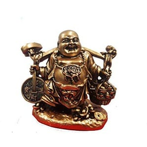 Macedonia Happy Buddha Figur Chinesisches Harz