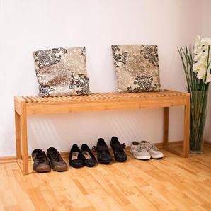 Garderobenbank aus Holz