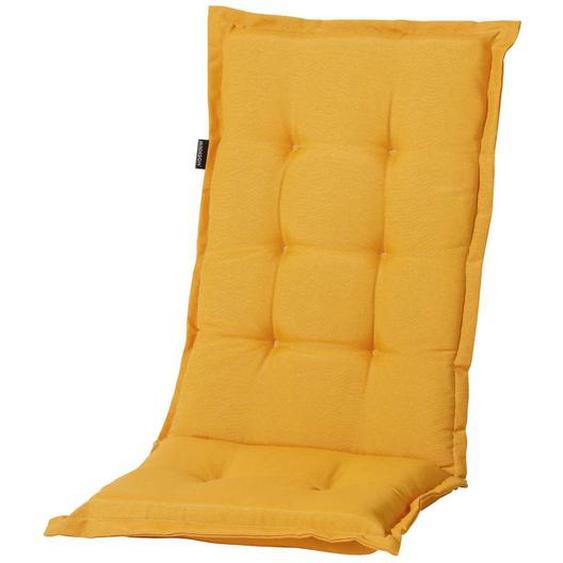 Madison Hochlehner-Auflage, Gelb, Baumwolle