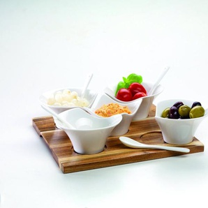 MÄSER Set: Snackingset auf Holztray »-« 11