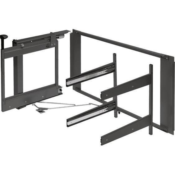 PEKA Magic Corner Comfort Beschlaggrt. links, für Eckkorpus 1000 mm, anthrazit