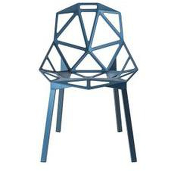 Magis - Chair One Stapelstuhl, blau