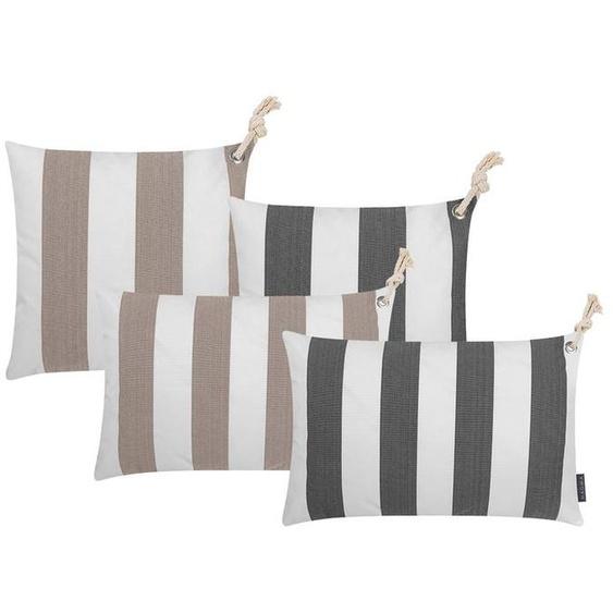 MAGMA Kissenhülle »Santorini«, verschiedene Größen, mit Reißverschluss, dekorativ