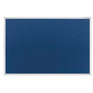 magnetoplan Pinnwand 150,0 x 100,0 cm Filz blau