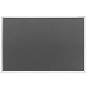 magnetoplan Pinnwand 150,0 x 100,0 cm Filz grau