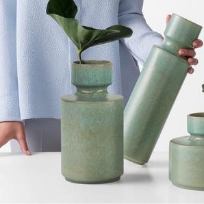 Magni mittelgrosse Vase, Blaugruen
