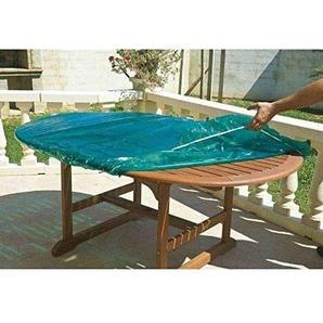 maillesac jp0132Bezug für Tischplatte, oval und rechteckig Kunststoff grün transparent 120 x 180cm Größe 4