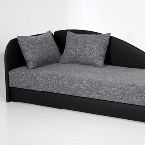 Maintal Studioliege, grau, 90/200 cm