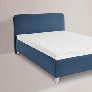Maintal Polsterbett, blau, 180/200 cm