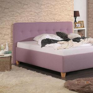 Home affaire Polsterbett »Figaro«, mit oder ohne Matratze in 2 Ausführungen, Härtegrad 2 oder 3