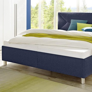 Maintal Polsterbett Struktur nur Bettgestell, Liegefläche B/L: 180 cm x 200 cm, kein Härtegrad, ohne Matratze blau Betten Möbel mit Aufbauservice