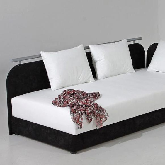 Maintal Polsterliege Liegehöhe 38 cm, Liegefläche B/L: 80 cm x 200 Gewicht, Federkern-Festpolster weiß Polsterliegen Gästebetten Betten