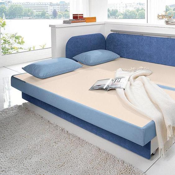 Maintal Schlafsofa 160 cm, Liegehöhe 55 cm blau Kinder Kindersessel Kindersofas Kindermöbel Sofas