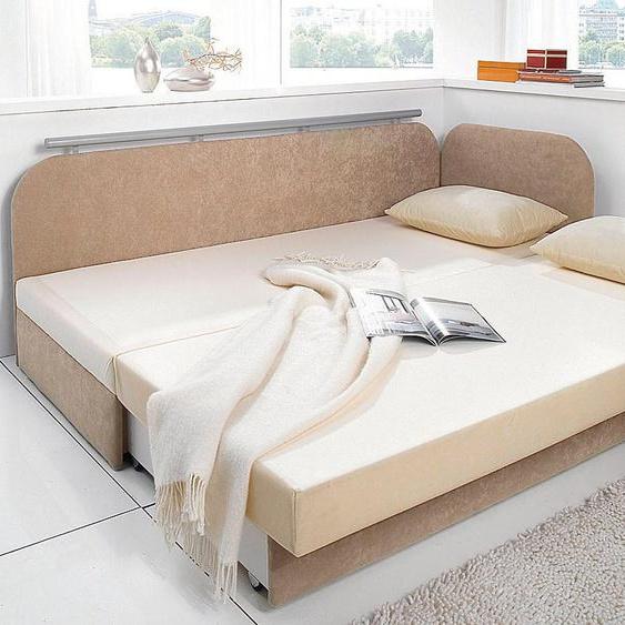 Maintal Schlafsofa 160 cm, Liegehöhe 55 cm braun Kinder Kindersessel Kindersofas Kindermöbel Sofas