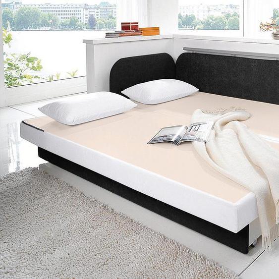 Maintal Schlafsofa 160 cm, Liegehöhe 55 cm weiß Kinder Kindersessel Kindersofas Kindermöbel Sofas