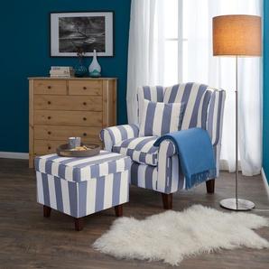 sessel in blau preisvergleich moebel 24. Black Bedroom Furniture Sets. Home Design Ideas
