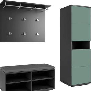 Maja Möbel Garderobenpaneel ALEA 0, 105,00x26,80x83,20 cm grau Garderobenpaneele Garderoben