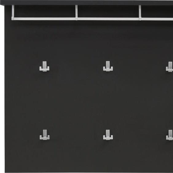 Maja Möbel Garderobenpaneel ALEA 105,00x26,80x83,20 cm grau Garderobenpaneele Garderoben