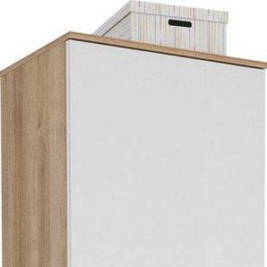 Maja Möbel Garderobenschrank »TREND Garderobenschrank 2565« Oberplatte Holz, ausziehbare Kleiderstange