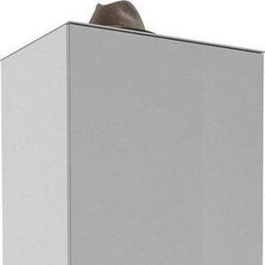 Maja Möbel Garderobenschrank »TREND Garderobenschrank 2566« Oberplatte Glas, ausziehbare Kleiderstange