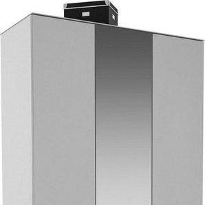 Maja Möbel Garderobenschrank »TREND Garderobenschrank 2572« Oberplatte Glas, mittlere Tür mit Spiegel, 1 ausziehbare Kleiderstange