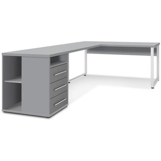 MAJA Schreibtisch, Grau