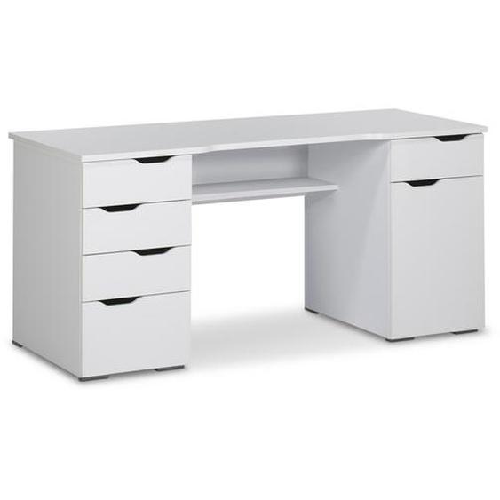 MAJA Schreibtisch, Weiß