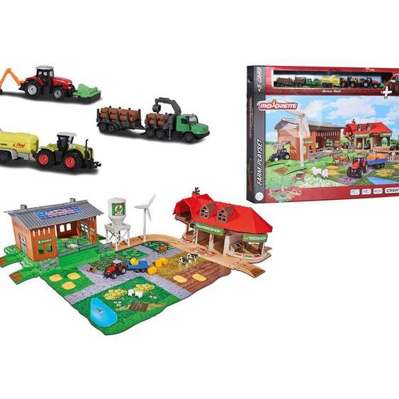 Majorette Creatix Big Farm + 5 Fahrzeuge