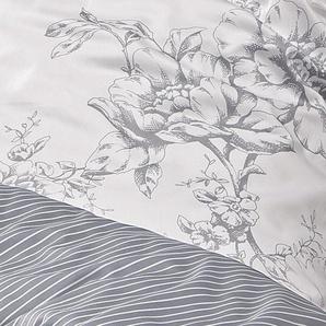 Mako-Satin-Bettwäsche Vintage Harmony, 80x80 +135x200 cm