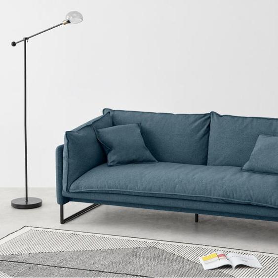 Malini 3-Sitzer Sofa, Orleansblau
