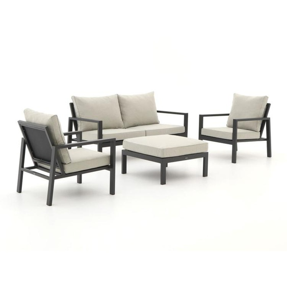Manifesto Alzano Sessel-Sofa Lounge-Set 4-teilig