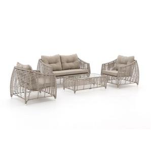 Manifesto Ortello Sessel-Sofa Lounge-Set 4-teilig