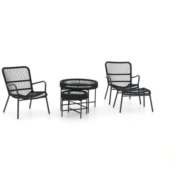 Manifesto Vitaro/Pepoli Lounge Balkon-Set 5-teilig
