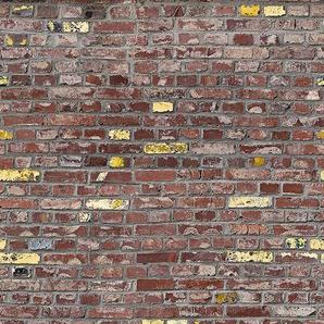Marburg Fototapete, gut lichtbeständig, restlos abziehbar B/L: 1,59 m x 2,70 rot Fototapeten Tapeten Bauen Renovieren Fototapete