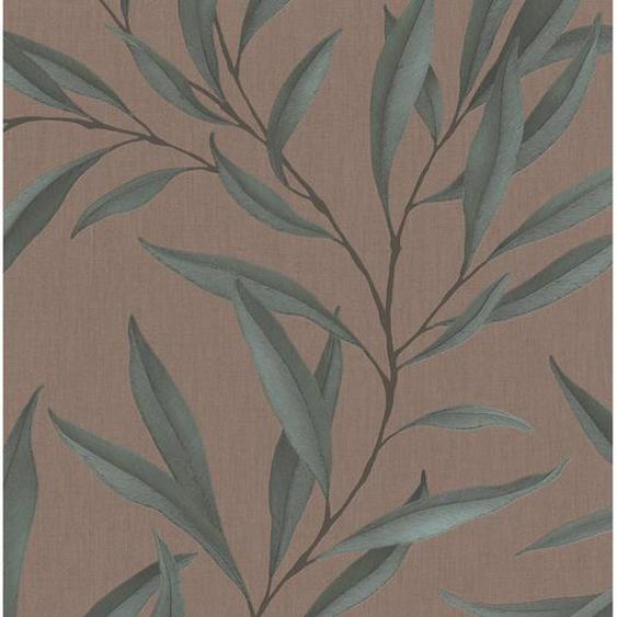 Marburg Vliestapete Modernista Floral Braun