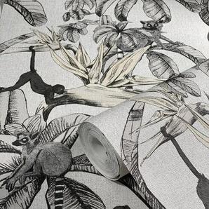 Marburg Vliestapete »Natural Vibes €-Rolle«, Dschungeloptik, lichtbeständig und restlos abziehbar