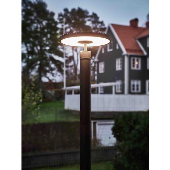 Markslöjd LED-Lampenkopf Plate Schwarz EEK: A+